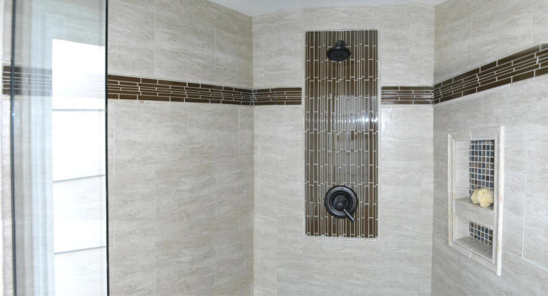 Warren Bathroom Remodel Bloomfield Hills Troy West Franklin Tiled Shower Stall
