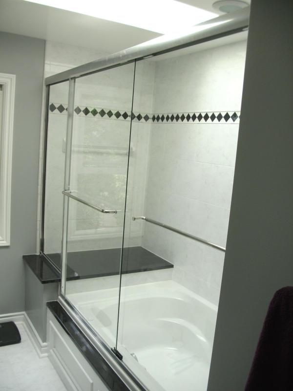 Custom Tile Bathtub Surround | Farmington Bathroom Remodel | Ferndale