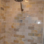 Redford Bathroom Remodel | Tiled Luxury Shower Stall