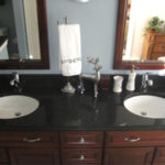 Northville Bathroom Remodel | Plymouth Livonia Redford Canton Westland Garden City | Double Sink Vanity