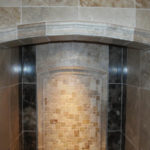 Luxury Decorative Shower Tile | Auburn Hills Oakland Rochester Hills MI Bathroom Remodel