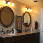 Luxury Double Vanity with Granite Countertop | Auburn Hills Oakland Rochester Hills Michigan Bathroom Remodel