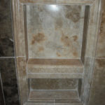 Luxury Shower Niche | Auburn Hills Oakland Rochester Hills Michigan Bathroom Remodel