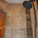 Luxury Shower | Decorative Custom Tile | Auburn Hills Oakland Rochester Hills Mchigan Bathroom Remodel