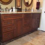 Luxury Double Vanity | Auburn Hills Oakland Rochester Hills MI Bathroom Remodel