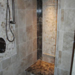 Luxury Shower | Decorative Custom Tile | Auburn Hills Oakland Rochester Hills MI Bathroom Remodel