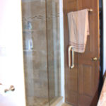 Custom Tiled Shower Stall with Glass Doors | Rochester Hills | Auburn Hills |